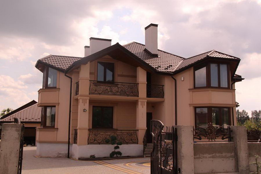 Гарний фасад у Львові